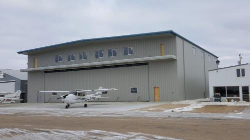 Cooking Lake Aviation Hangar