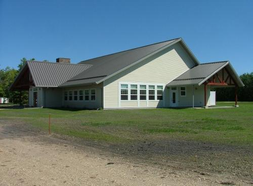 Camp St. Basil's New Dining Facility